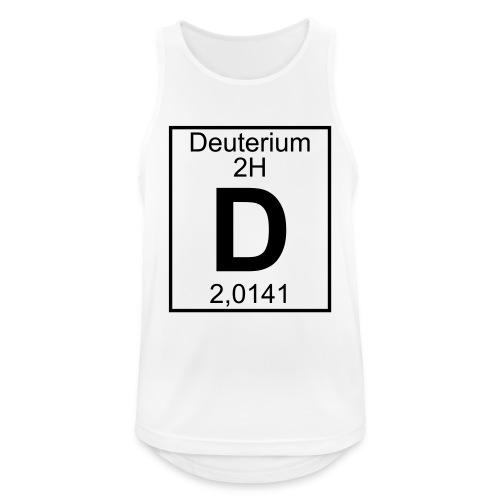 D (Deuterium) - Element 2H - pfll - Men's Breathable Tank Top