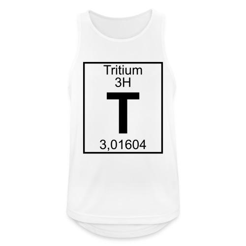 T (tritium) - Element 3H - pfll - Men's Breathable Tank Top