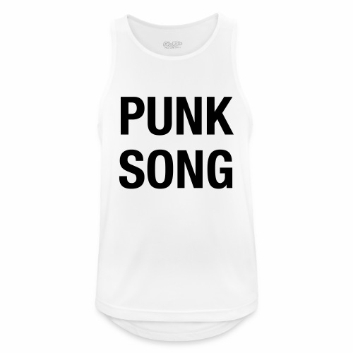 PUNK SONG - Men's Breathable Tank Top