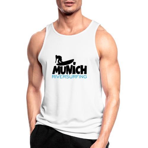 Munich Riversurfing München Surfer - Männer Tank Top atmungsaktiv