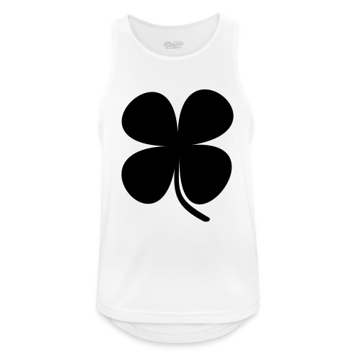CLOVER - Camiseta sin mangas hombre transpirable