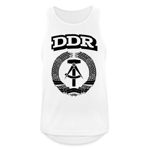 DDR T-paita - Miesten tekninen tankkitoppi