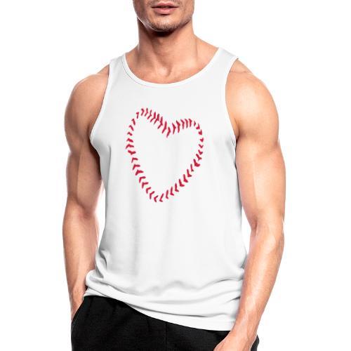 2581172 1029128891 Baseball Heart Of Seams - Men's Breathable Tank Top