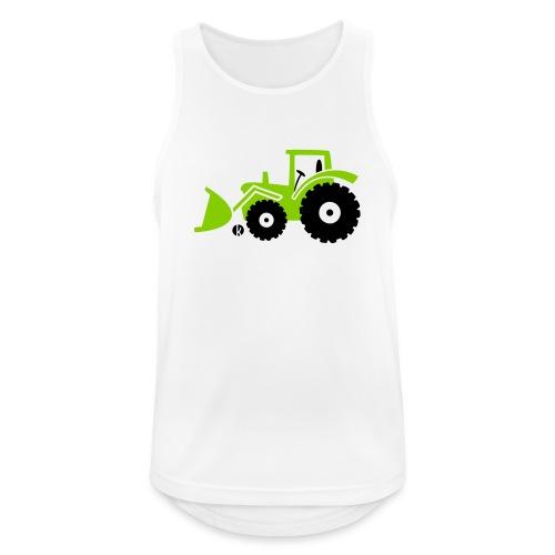 Traktor Frontlader Bulldog Radlader mit Schaufel - Männer Tank Top atmungsaktiv