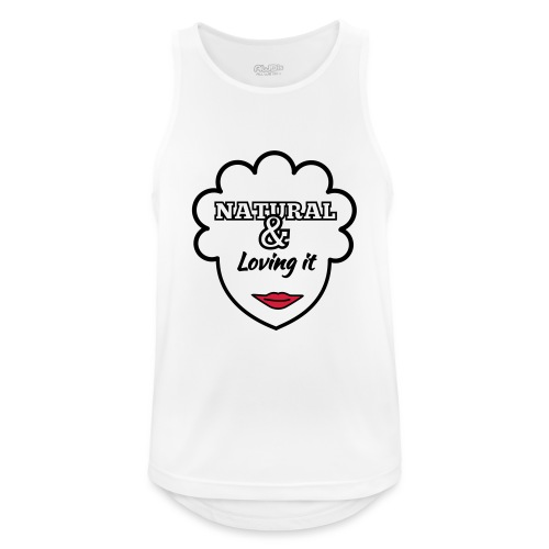Natural & Loving It - Men's Breathable Tank Top