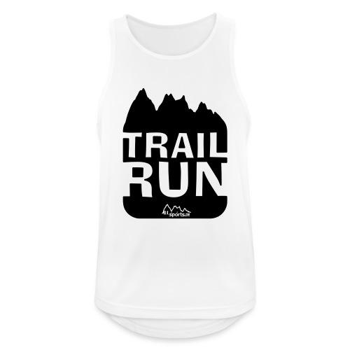 Trail Run - Männer Tank Top atmungsaktiv