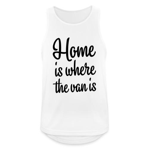 Home is where the van is - Autonaut.com - Men's Breathable Tank Top
