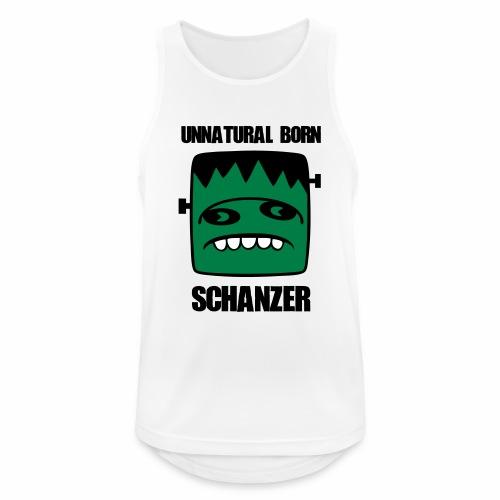 Fonster unnatural born Schanzer - Männer Tank Top atmungsaktiv