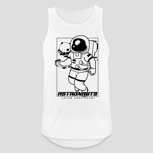Astronauts loves Beerpong - Männer Tank Top atmungsaktiv