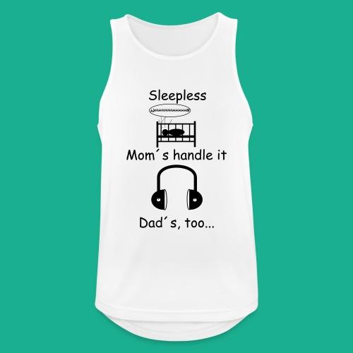 Sleepless - Männer Tank Top atmungsaktiv