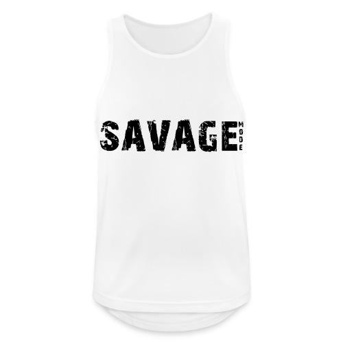 SAVAGE - Camiseta sin mangas hombre transpirable