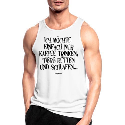 einfach nur - Männer Tank Top atmungsaktiv