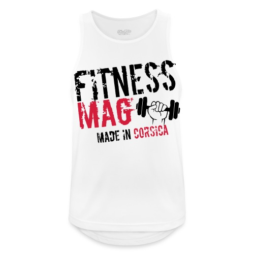 Fitness Mag made in corsica 100% Polyester - Débardeur respirant Homme