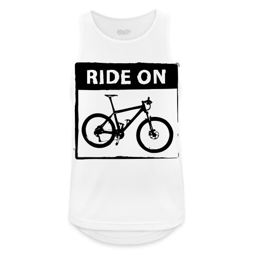 Ride On MTB 1 Color - Männer Tank Top atmungsaktiv