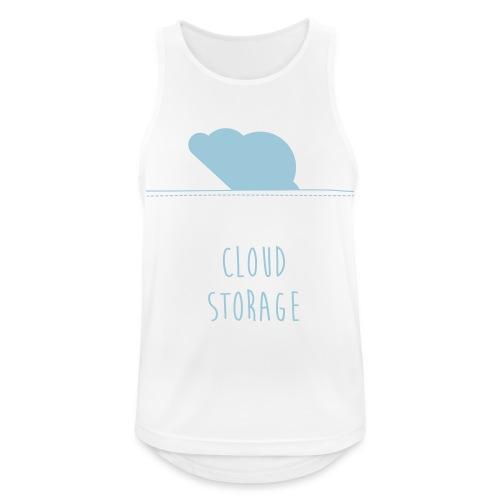 Cloud Storage - Männer Tank Top atmungsaktiv