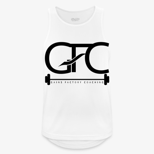 GAINS FACTORY COACHING - Männer Tank Top atmungsaktiv