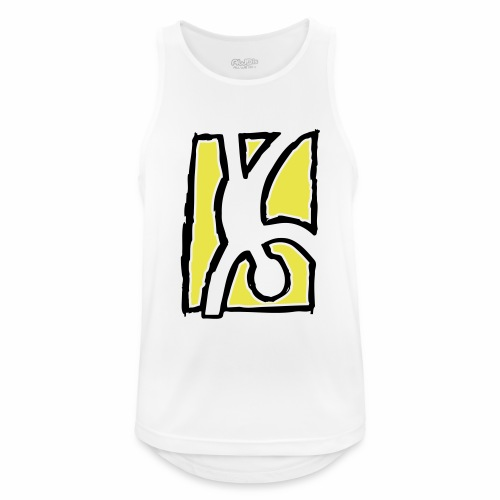 Capoeira: Hand stand - Men's Breathable Tank Top