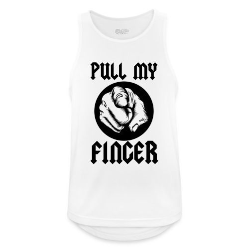 Pull My Finger - Men's Breathable Tank Top