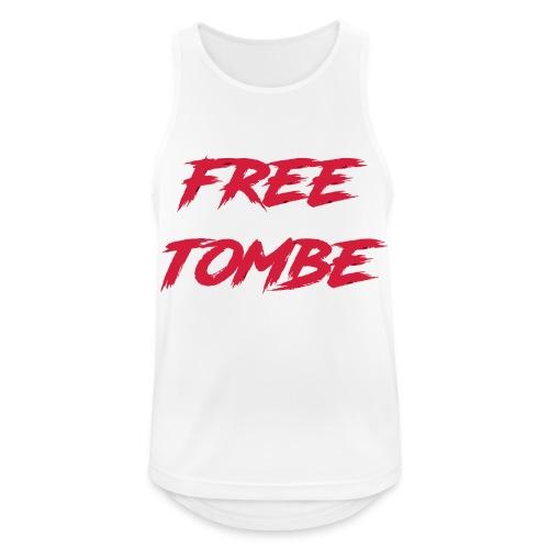 FREE TOMBE AI - Männer Tank Top atmungsaktiv