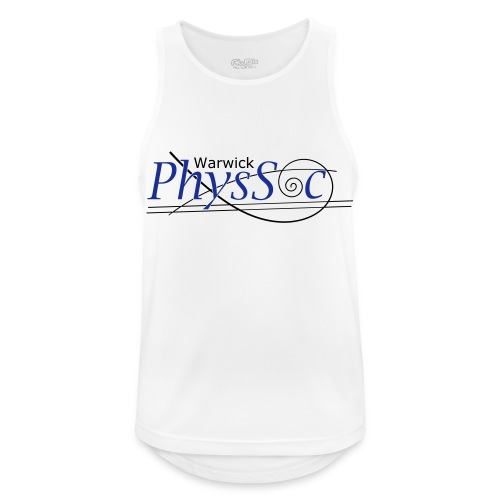Official Warwick PhysSoc T Shirt - Men's Breathable Tank Top
