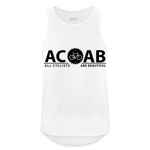ACAB ALL CYCLISTS - Männer Tank Top atmungsaktiv