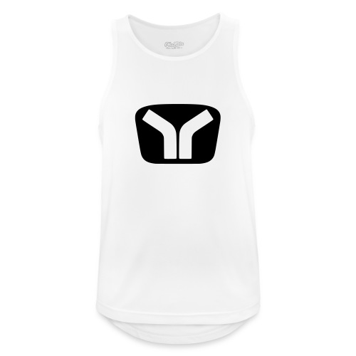 Yugo Logo Black-White Design - Men's Breathable Tank Top