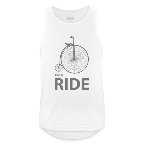 Born To Ride - Men's Breathable Tank Top