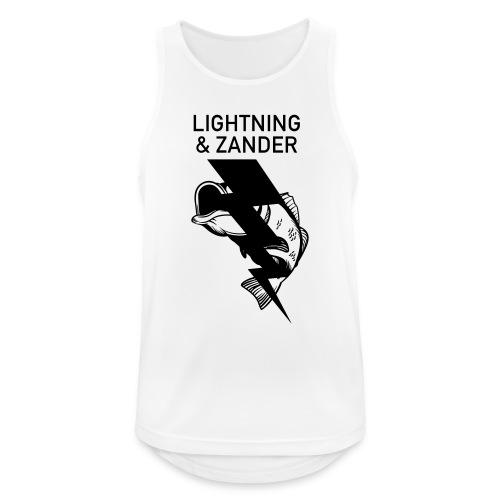 Lightning & Zander - Männer Tank Top atmungsaktiv