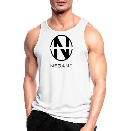 Black Negant logo - Herre tanktop åndbar