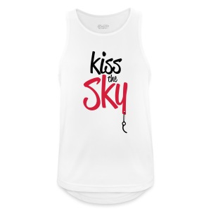 Kiss the Sky - Männer Tank Top atmungsaktiv