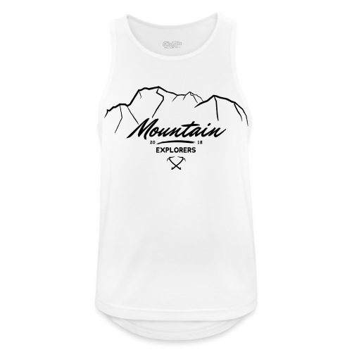 MOUNTAIN EXPLORERS - Canotta da uomo traspirante