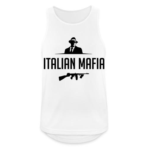 italian mafia - Canotta da uomo traspirante
