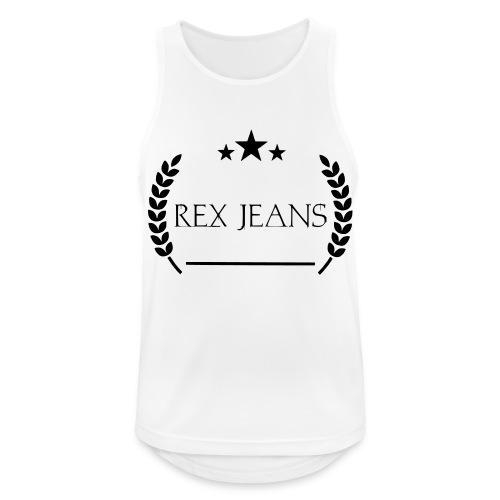 Rex Jeans - Männer Tank Top atmungsaktiv