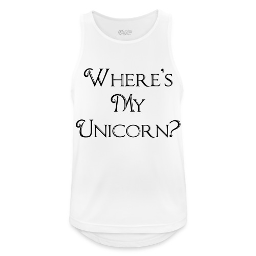 Where's My Unicorn - Men's Breathable Tank Top