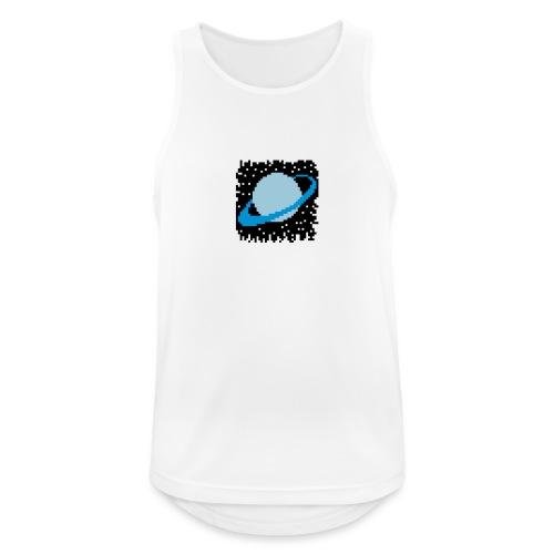 PixelArt Saturn - Men's Breathable Tank Top