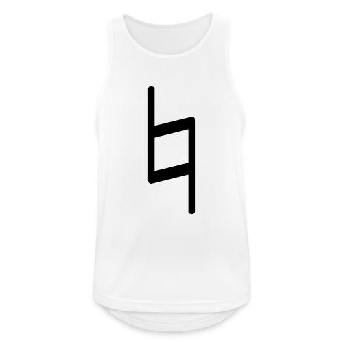 holy brand shirt, black - Männer Tank Top atmungsaktiv