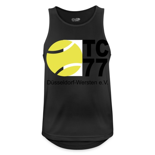 TC 77 Logo - Männer Tank Top atmungsaktiv