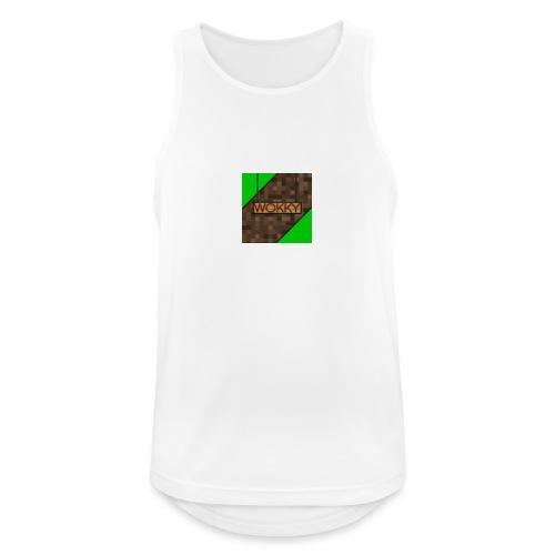 Wokky T Shirt - Andningsaktiv tanktopp herr