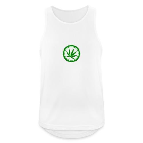 Weed - Männer Tank Top atmungsaktiv