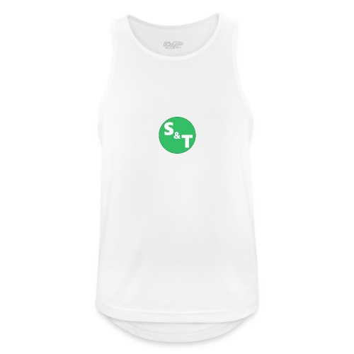 ST Main Logo - Men's Breathable Tank Top
