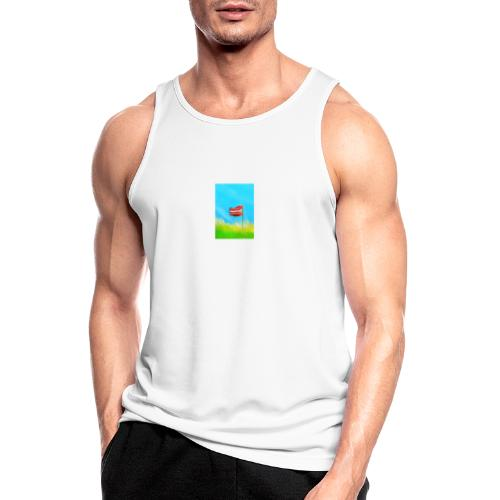 man shirt - Men's Breathable Tank Top