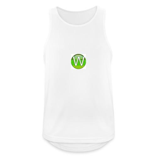 Alternate W1ll logo - Men's Breathable Tank Top