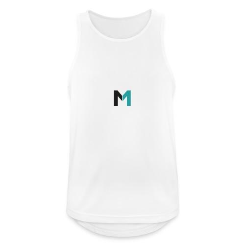 Logo M - Männer Tank Top atmungsaktiv