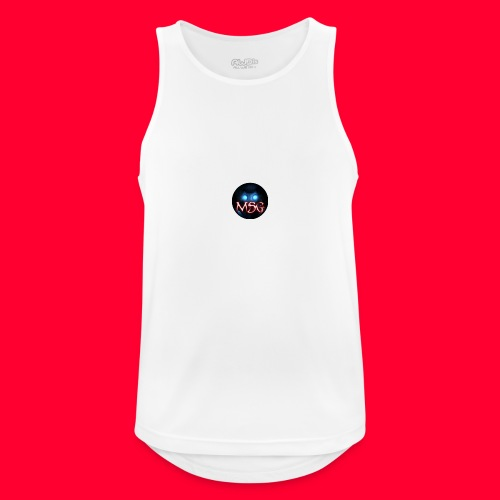 logo jpg - Men's Breathable Tank Top