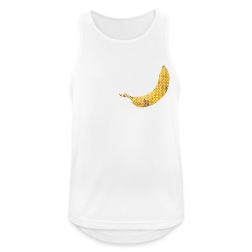 Dots Banane - Männer Tank Top atmungsaktiv