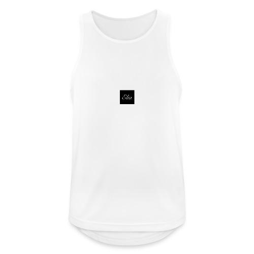 ELIA (Black and white) - Männer Tank Top atmungsaktiv