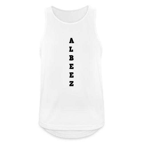 albeez - Camiseta sin mangas hombre transpirable