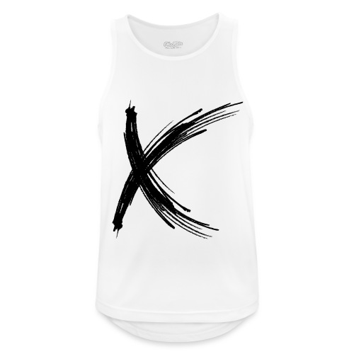 X - Camiseta sin mangas hombre transpirable