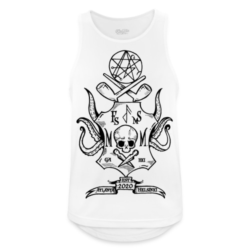 Frost Pipes & Misfits And Makers - Men's Breathable Tank Top