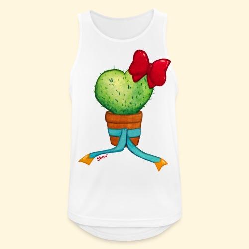 Cactus Coeur - Débardeur respirant Homme